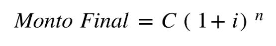 calculo de monto final