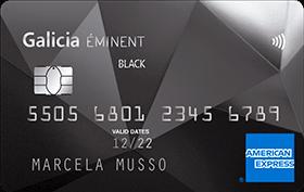 Galicia Éminent Amex Black