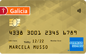 Galicia Amex Gold