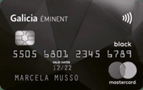 Galicia Éminent Mastercard Black
