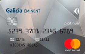 Galicia Éminent Mastercard Platinum