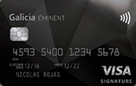 Galicia Éminent Visa Signature