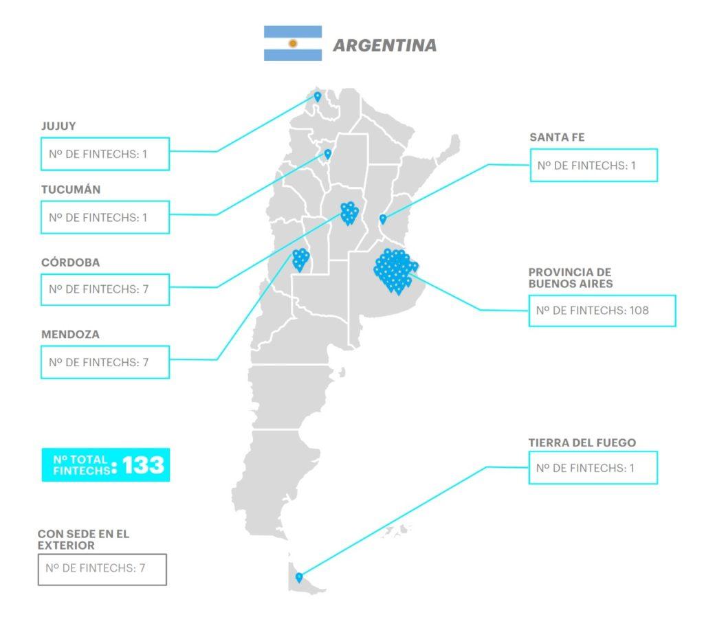 mapa fintech argentina