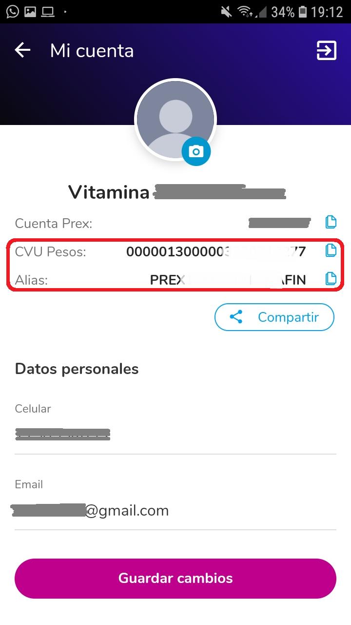 Prex CVU 2
